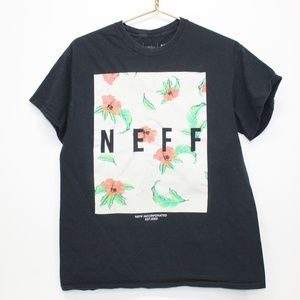 Neff Floral Screen Print Front Shirt